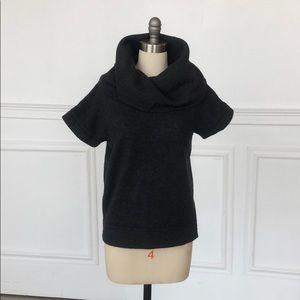 GAP Short sleeve, cowl neck sweater